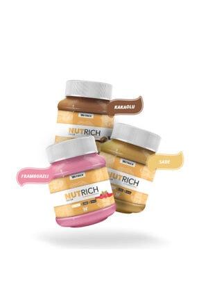 Nutrich Nutrition Nutrich Doğal Fıstık Ezmesi Paketi 1