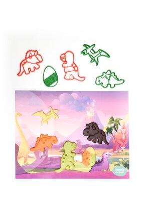 Bonnie Play Dough Doğal Oyun Hamuru 4'lü Dinazor Seti 4x150 gr