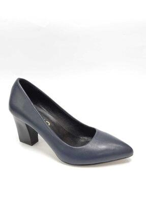 bay güneyderi ayakkabı Kadın Lacivert Topuklu Ayakkabı
