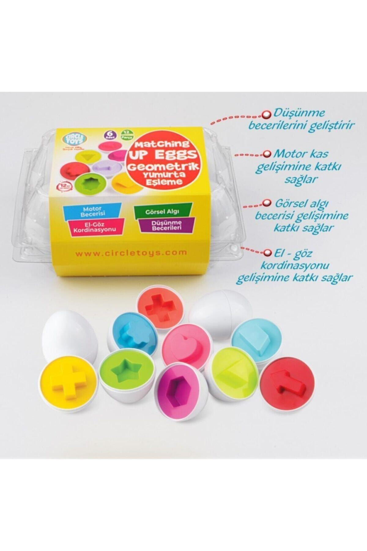 Circle Toys Geometrik Yumurta Eşleme 2