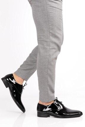 depderi Erkek Rugan Klasik Damatlık Ayakkabı