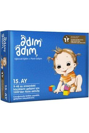 Adım Adım Bebek Eğitim Setleri Yayınları Adım Adım Bebek Eğitim Seti 15.ay