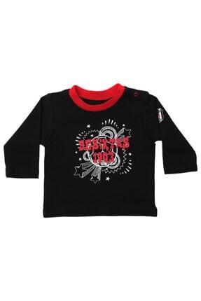 Beşiktaş Unisex Bebek Siyah Uzun Kol T-shırt-k20-119