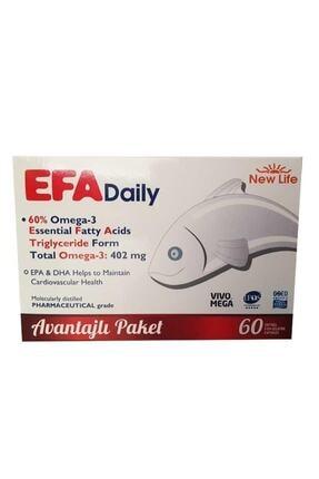 New Life Newlife Efa Daily 60 Kapsül Avantajlı Paket