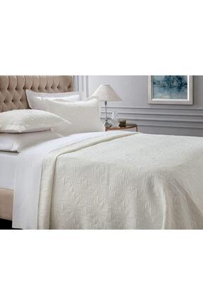 Madame Coco Iven Tek Kişilik Yatak Örtüsü - Beyaz