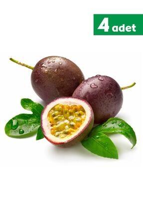 TROPİK SEPETİ Çarkıfelek Pasiflora Meyvesi  4 Adet