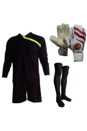Evox Kaleci Forma,kaleci Şortu,lüx Futbol Çorabı,kaleci Eldiveni Seti