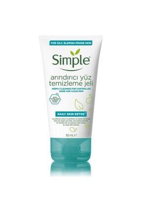 Simple Yağlı Karma Ciltler İçin Arındırıcı Yüz Temizleme Jeli 150 ml