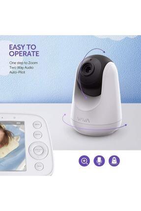 TaoTronics Vava Va-ıh006 12.7 Cm Ses Ve Görüntülü Hd Ekranlı Bebek Kamerası 24 Saat Pil Ömrü