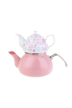 Karaca Levin Emaye Porselen Çaydanlık Takımı