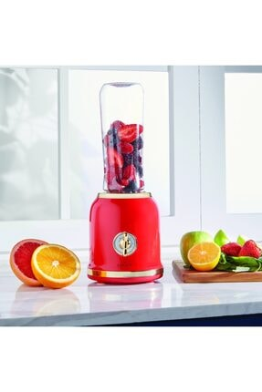 Karaca Retro Personal Kişisel Smoothie Blender Red