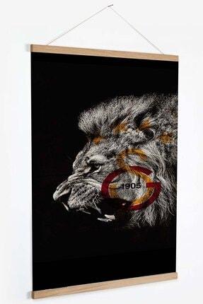 GSStore Galatasaray, Retro, Kanvas Poster / Tablo - Afiş ( Ahşap Askılı )