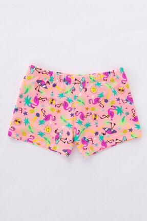 Penti Kız Çocuk Çok Renkli Girls Flamingo Check Bikini Altı