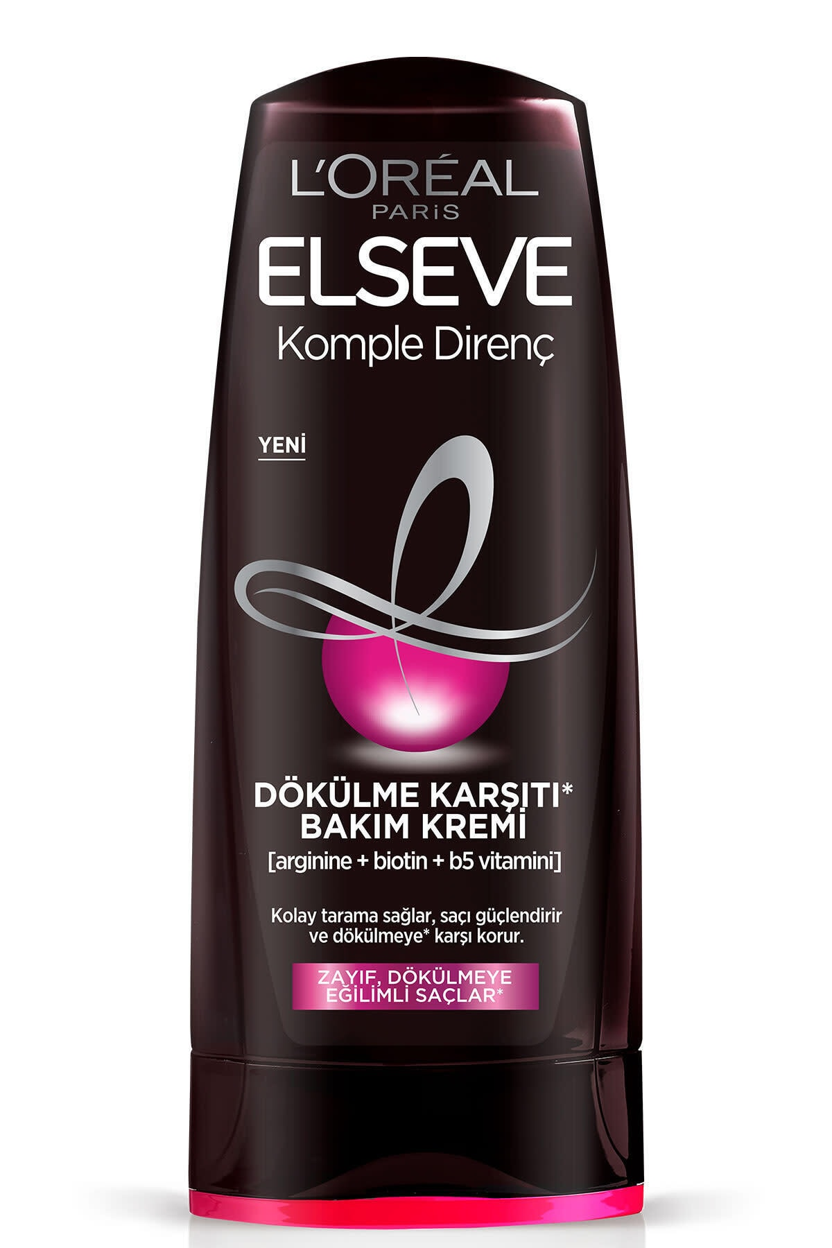 ELSEVE Zayıf Dökülmeye Eğilimli Saçlar İçin Arginine Saç Kremi 360 ml 2
