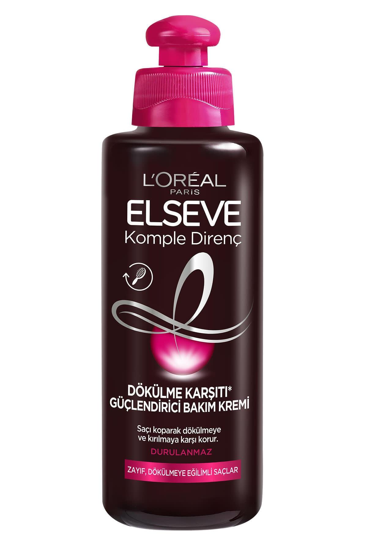 ELSEVE L'oréal Paris Komple Direnç Dökülme Karşıtı Güçlendirici Bakım Kremi 200 ml 2