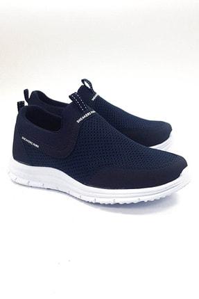 sneakers Park Unisex Lacivert Beyaz Tam Ortopedik Spor Ayakkabı