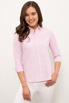 U.S. Polo Assn. Pembe Kadın Gömlek G082SZ004.000.1193803