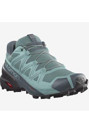 Salomon Kadın Yeşil Outdoor Koşu Ayakkabısı L41309300 Speedcross 5 W