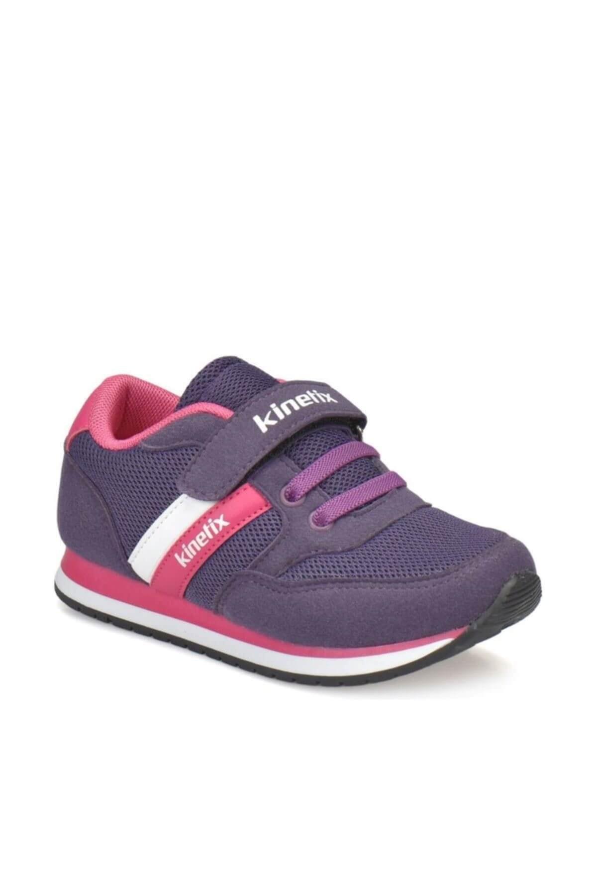 Kinetix PAYOF Mor Fuşya Beyaz Kız Çocuk Sneaker 100294201 1
