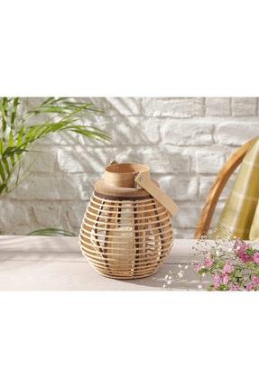 English Home Fancy Bambu Fener 18x22 Cm Kahve