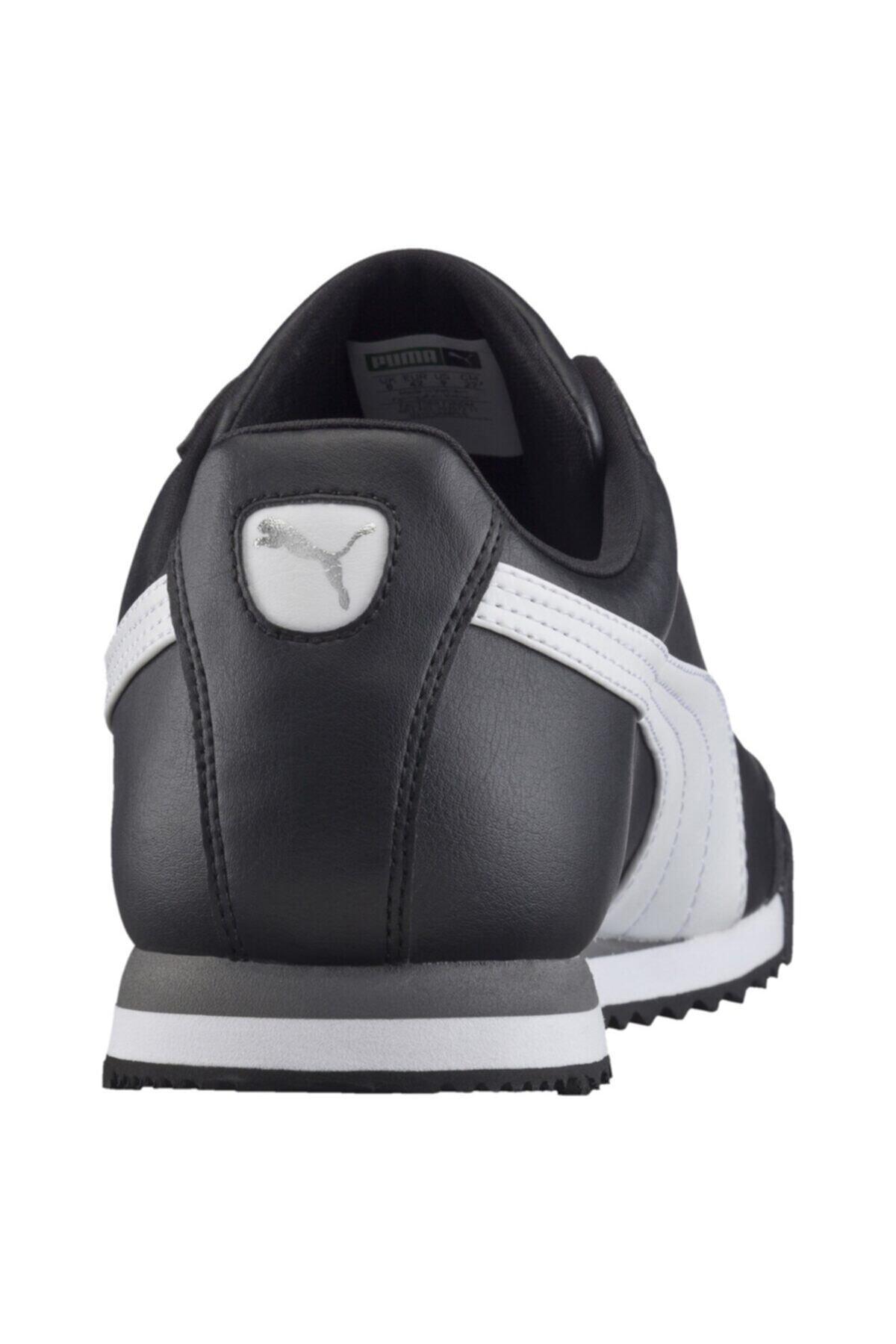 Puma Unisex Çocuk Siyah Roma Basıc Spor Günlük Ayakkabı 354259-011 2