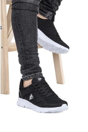 DUNLOP Erkek Siyah Bağcıklı Spor Ayakkabı
