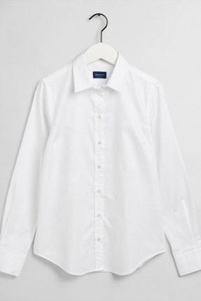 Gant Kadın Beyaz Slim Fit Gömlek 4320135