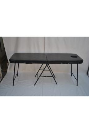 NASİP MEDİKAL Çanta Tipi Masaj Masası Siyah