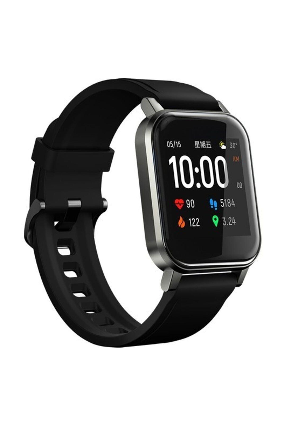 Haylou Ls02 Akıllı Saat, Ios Ve Android Uyumlu, Siyah 1