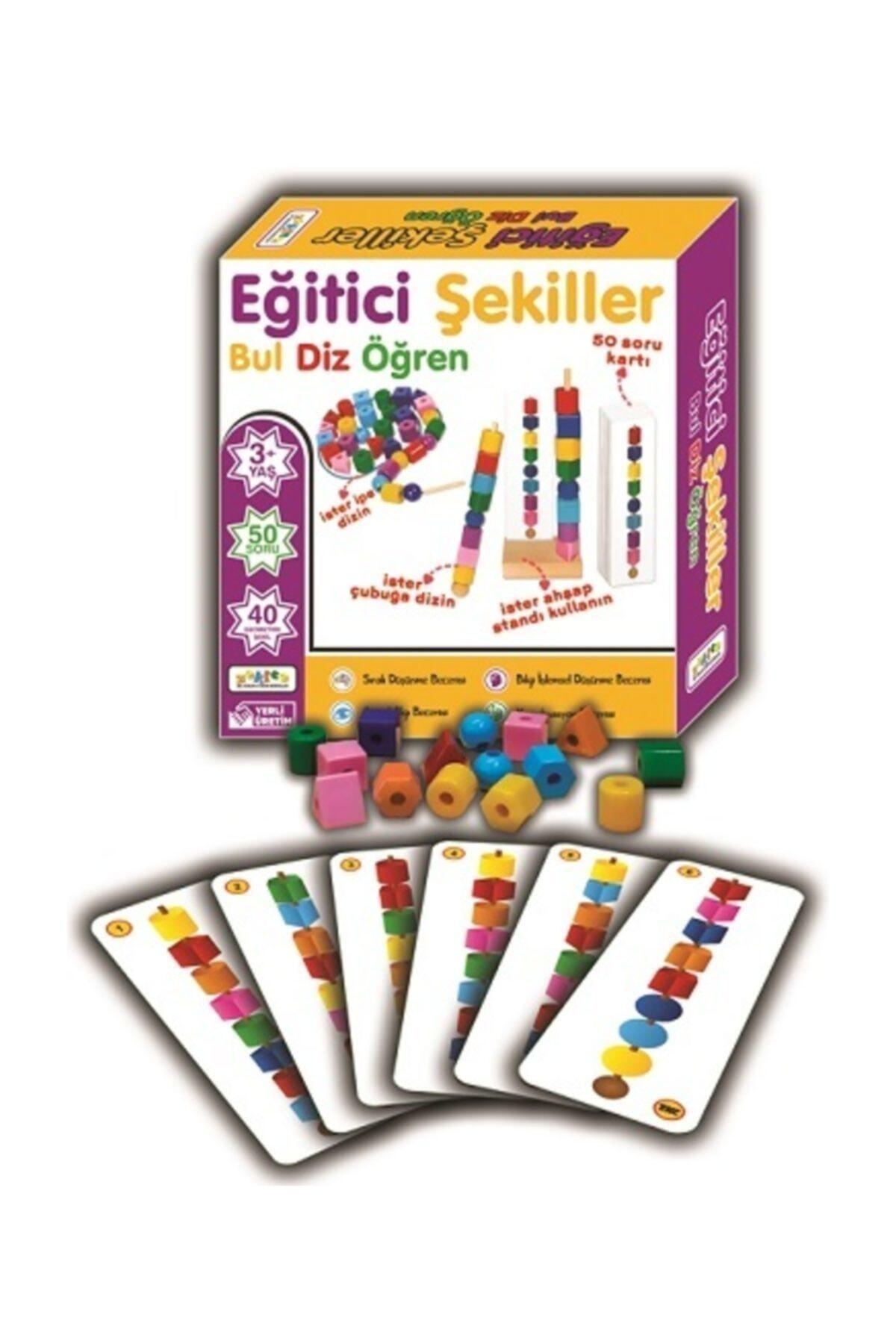 Zekice Bak Diz Boz Oyunu Eğitici Şekiller 1