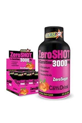 Zero Shot L-carnitine Şeftali 3000 mg 12 Adet