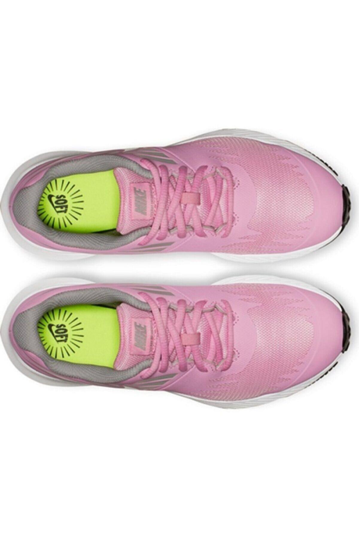 Nike Kadın Pembe Star Runner {gs} Spor Ayakkabı  907257-602 2