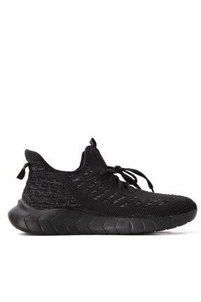 Slazenger Adventure Sneaker Erkek Ayakkabı Siyah / Siyah Sa10re255