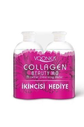 Voonka Beauty Collagen H2o Makyaj Temizleme Suyu 2'li Kofre Makyaj Temizleme Suyu