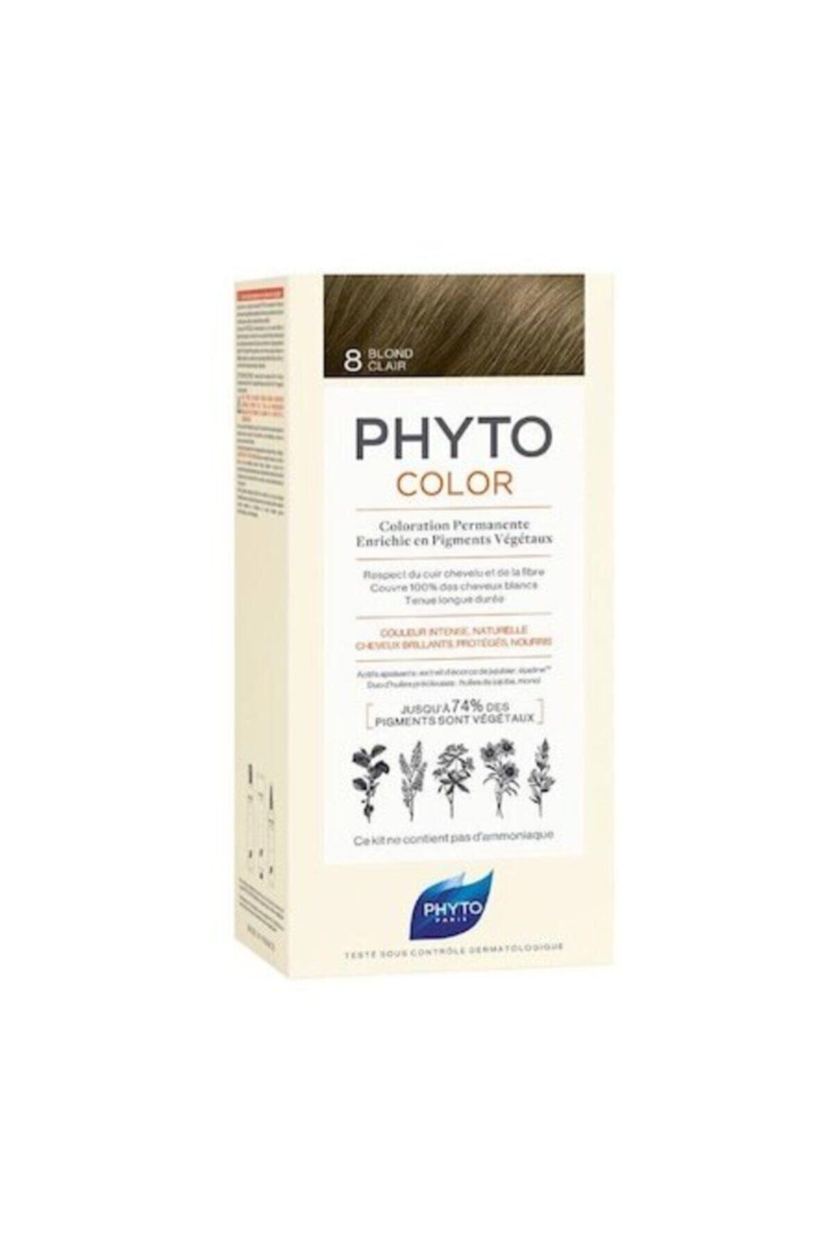 Phyto Color 8 Sarı Bitkisel Saç Boyası 1