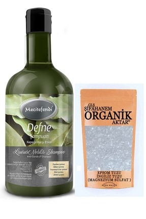 Mecitefendi Defne Şampuanı 400ml+ Epsom Tuzu 150 Gr (ingiliz Tuzu) Saç Kürü