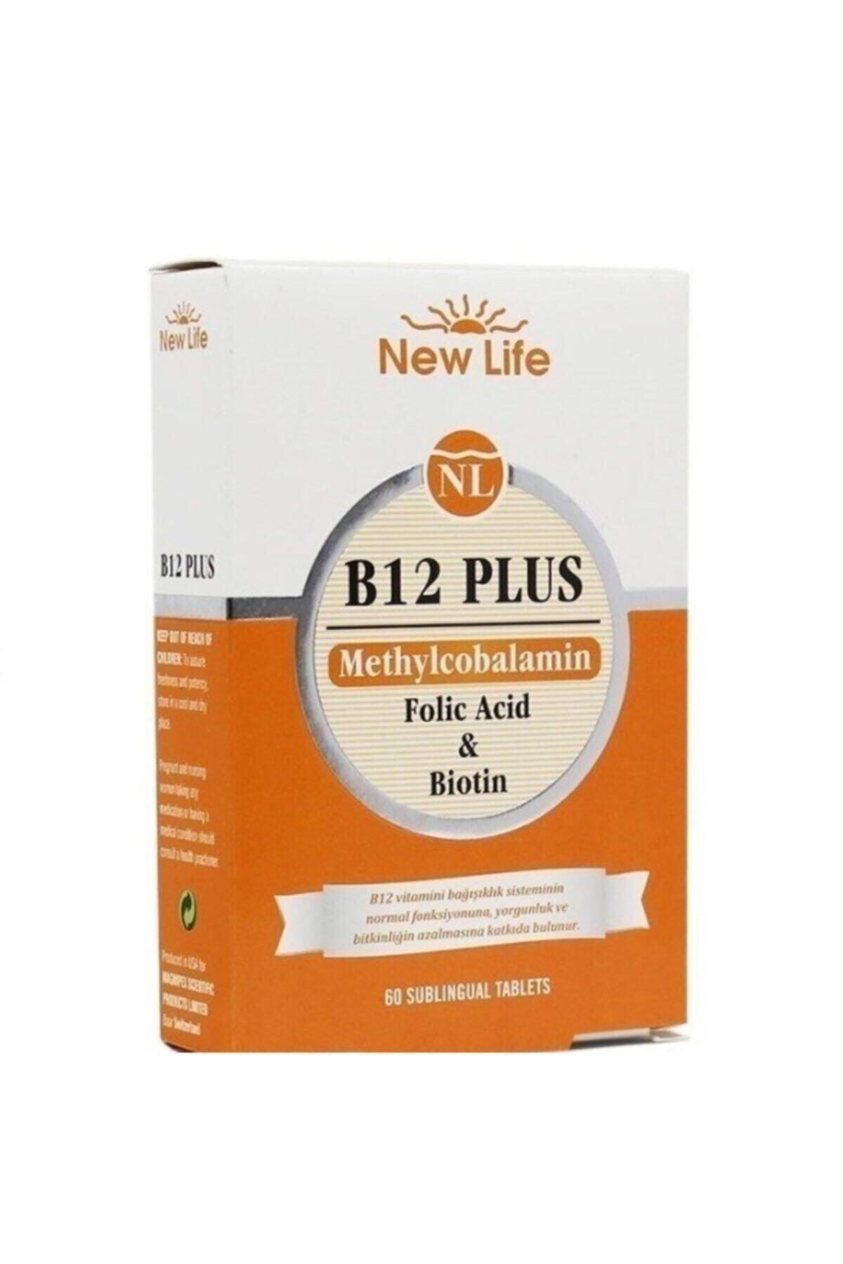 New Life B12 Plus 60 Tablet 2