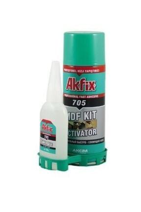 Akfix Aktif Mdf Yapıştırıcıl Hızlı Yapıştırıcı 200 ml  50 gr