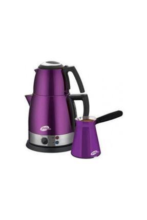 GOLDMASTER Gm-7322p Mor Çay Ve Kahve Makinesi