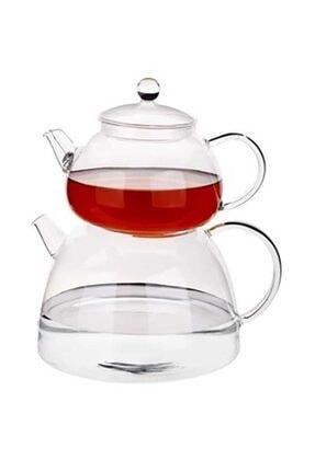 Tantitoni Borosilikat Cam Çaydanlık Takımı 810 ml 1350 ml