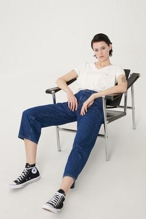 Lee Kadın Mavi Wide Leg Denim Esnek Jean Kot Pantolon