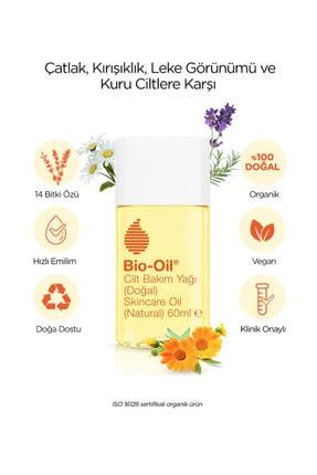 Bio-Oil 14 Bitki Özü Içeren Doğal Vegan Cilt Bakım Yağı 60 Ml