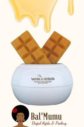 Waxess Mars Profesyonel Beyaz Ağda Makinesi 240ml 2 Adet Bal'mumu Çikolata Ağda Avantaj Paketi