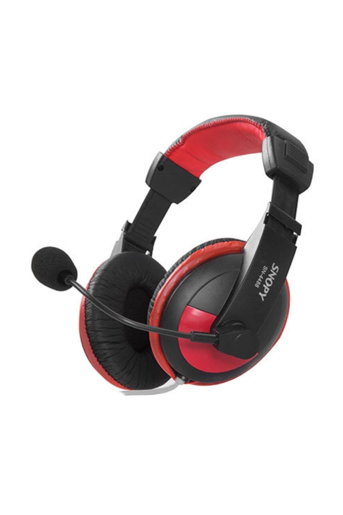 Snopy Sn-4488 Profesyonel Oyuncu Mikrofonlu Kulaklık 1