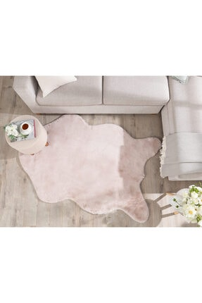 English Home Solid Rabbit Polyester Post 120x180 Cm Pudra