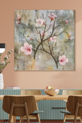 Hediyeler Kapında Japanese Flower Kanvas Tablo