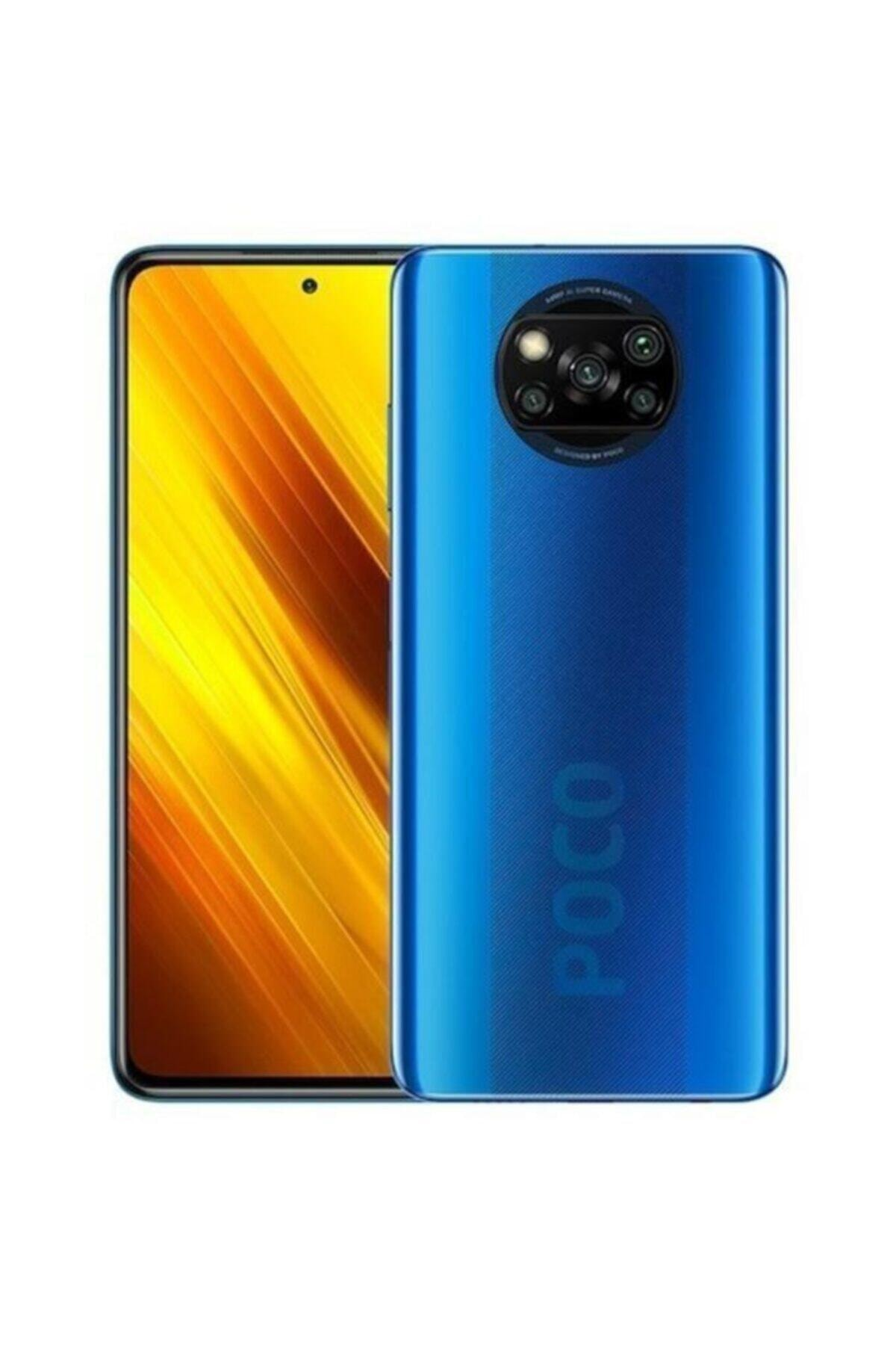 POCO X3 NFC 128GB Mavi Cep Telefonu (Xiaomi Türkiye Garantili) 1