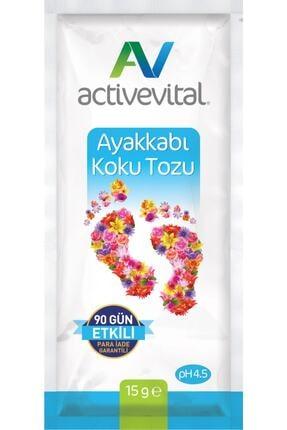 Active Vital Ayak Koku Tozu 5 Adet 15 g