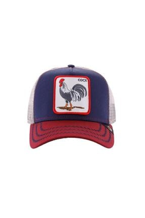 Goorin Bros Unisex Kırmızı Mavi Renkli All American Rooster Şapka