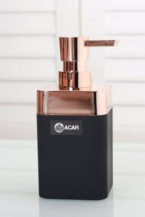 ACAR Lar Akr9399 Akrilik Sıvı Sabunluk Siyah Gold